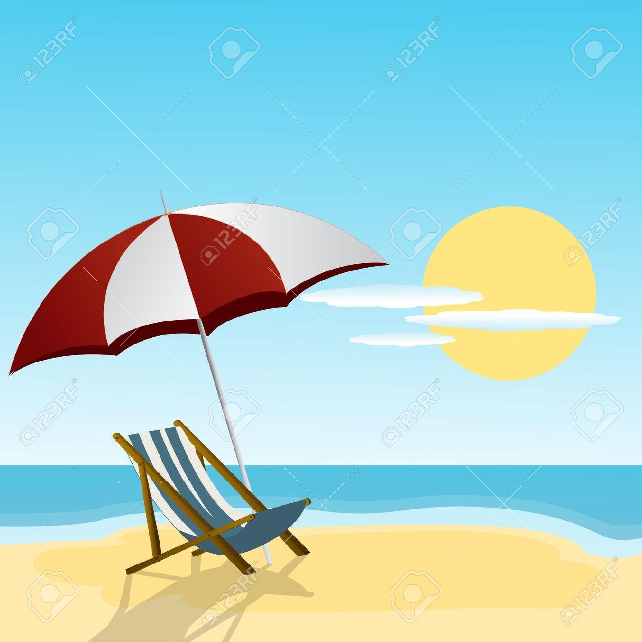 Summer beach scene clipart banner library Summer Scene Clipart   Free download best Summer Scene ... banner library