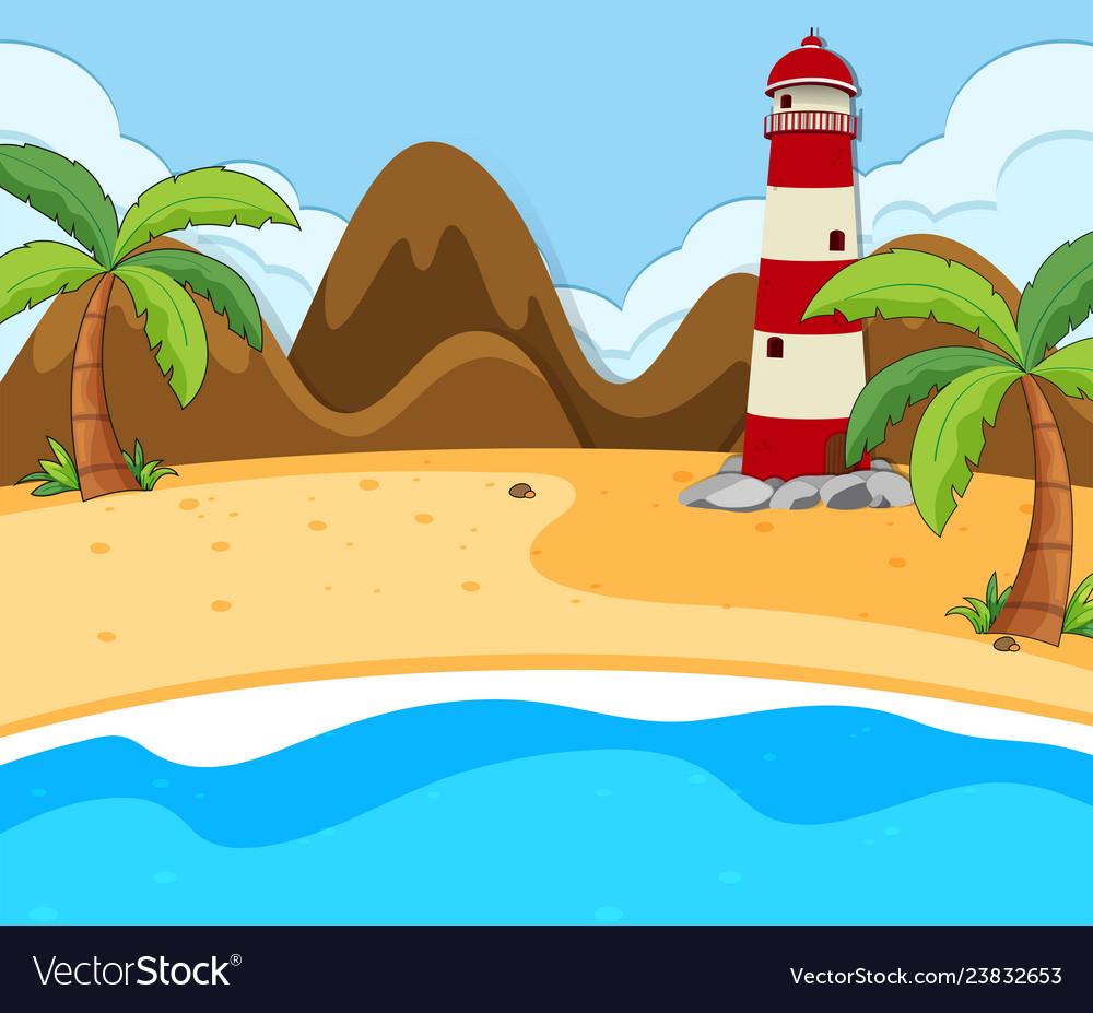 Summer beach scene clipart jpg free download A beach summer scene jpg free download