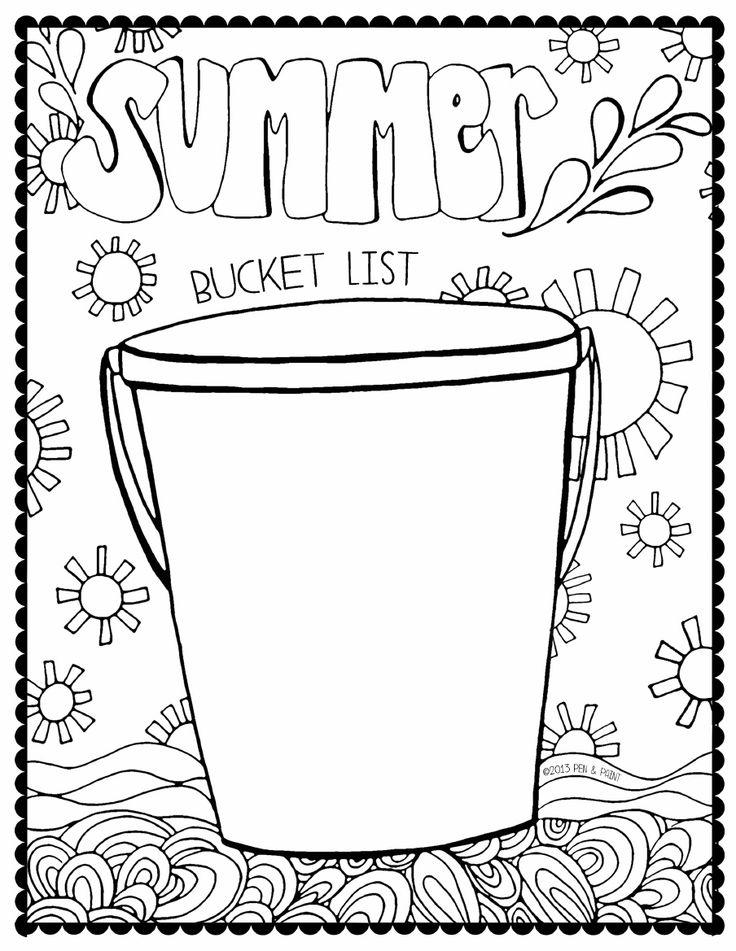 Summer bucket list clipart image Summer bucket list clipart - ClipartFest image