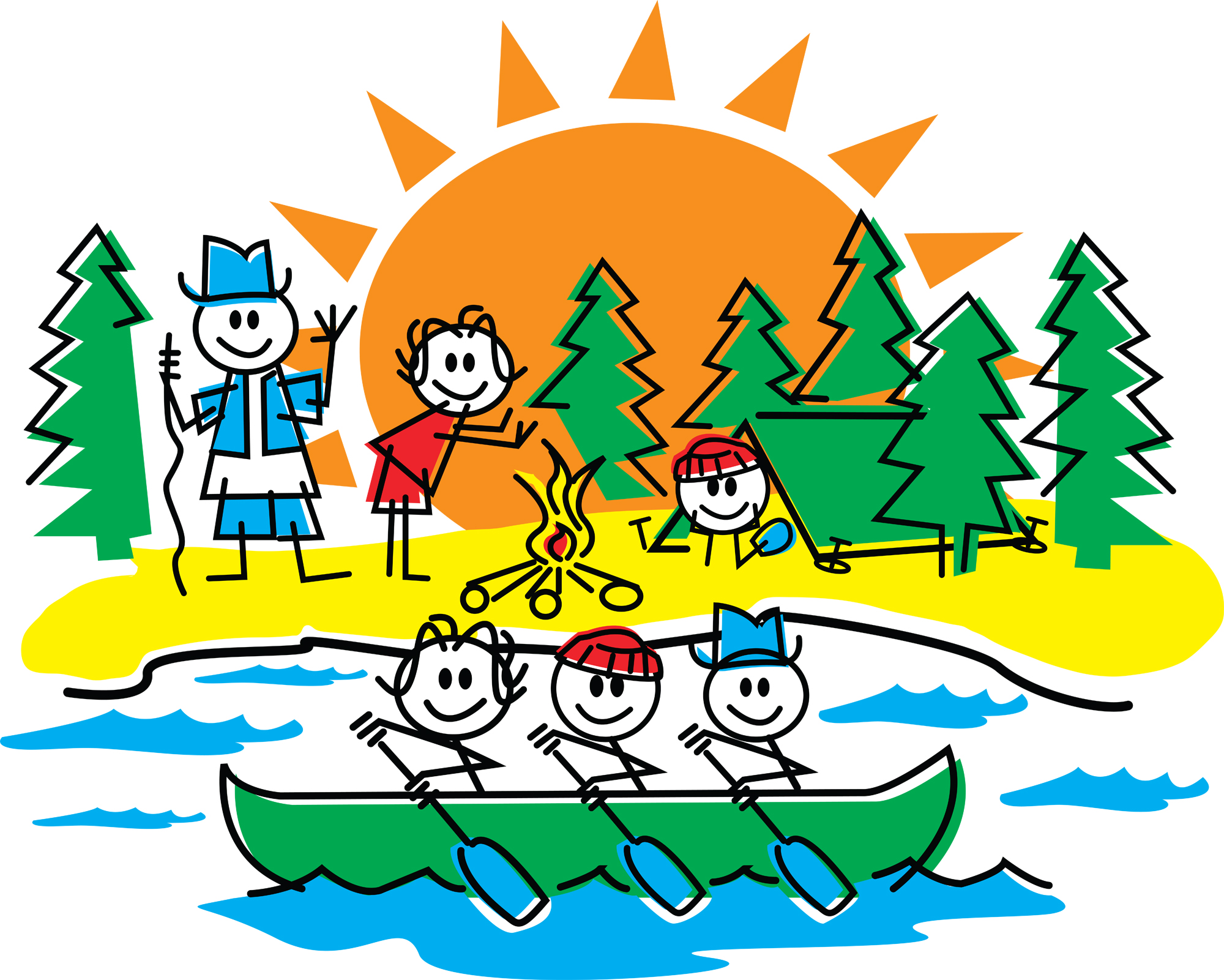 Summer camp clipart graphic royalty free download Summer Camp Clip Art N37 free image graphic royalty free download