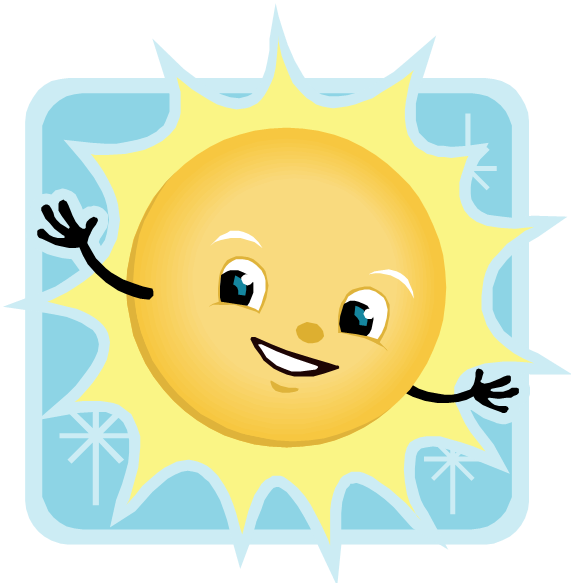 Summer camp happy sun clipart banner library download Summer Day Camps - Clemmons Gymnastics Center banner library download