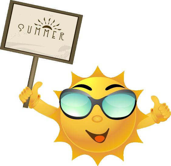 Summer camp sun clipart image transparent download Summer Events! - Millington Municipal Schools image transparent download