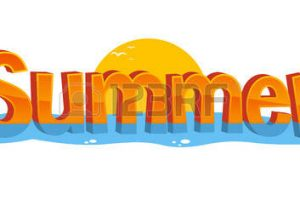 Summer clipart banner svg black and white download Summer banner clipart 7 » Clipart Station svg black and white download