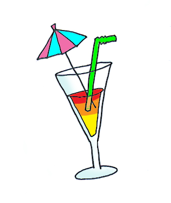 Summer clipart drink clip art royalty free stock Summer Clip Art - Summer Graphics clip art royalty free stock