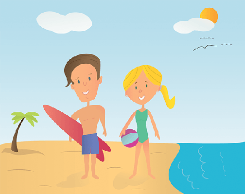 Summer clipart people jpg freeuse library Free Summer People Cliparts, Download Free Clip Art, Free ... jpg freeuse library