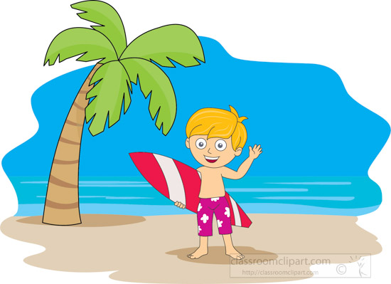 Summer clipart people