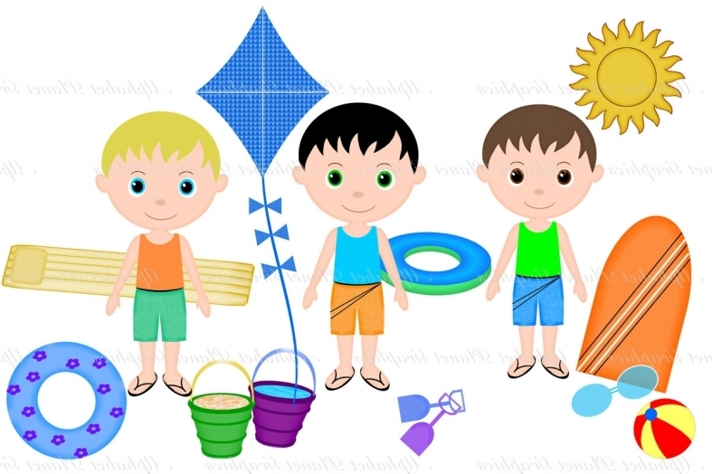Summer clipart people picture library download Summer Pics For Kids Clipart | Free download best Summer ... picture library download