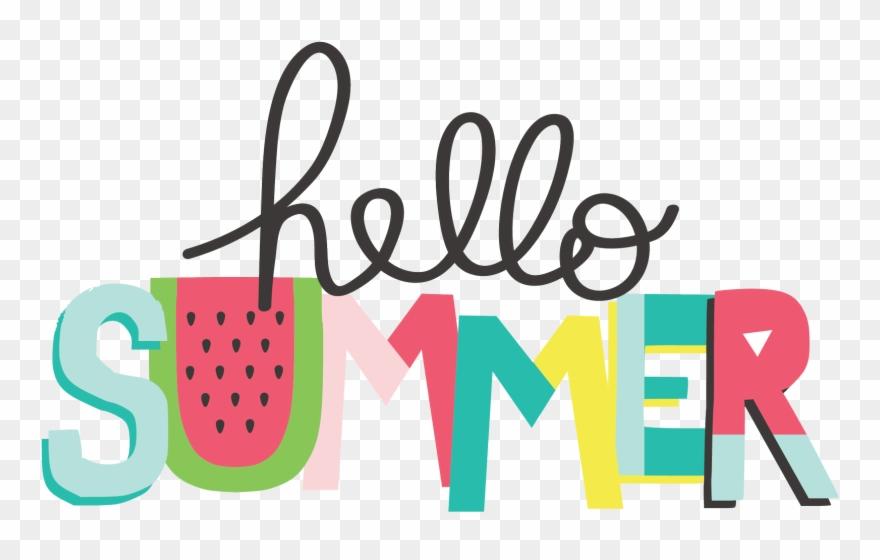Summer clipart photos image stock Hello Summer Clipart (#2531035) - PinClipart image stock