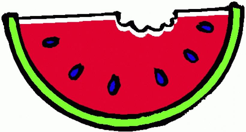 Summer clipart watermelon graphic transparent stock Summer watermelon clipart black and white free – Gclipart.com graphic transparent stock