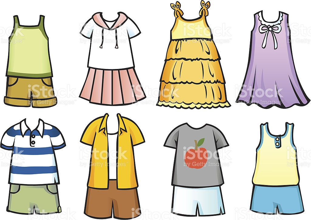 Summer clothes clipart clip art royalty free library Summer season clothes clipart 3 » Clipart Station clip art royalty free library