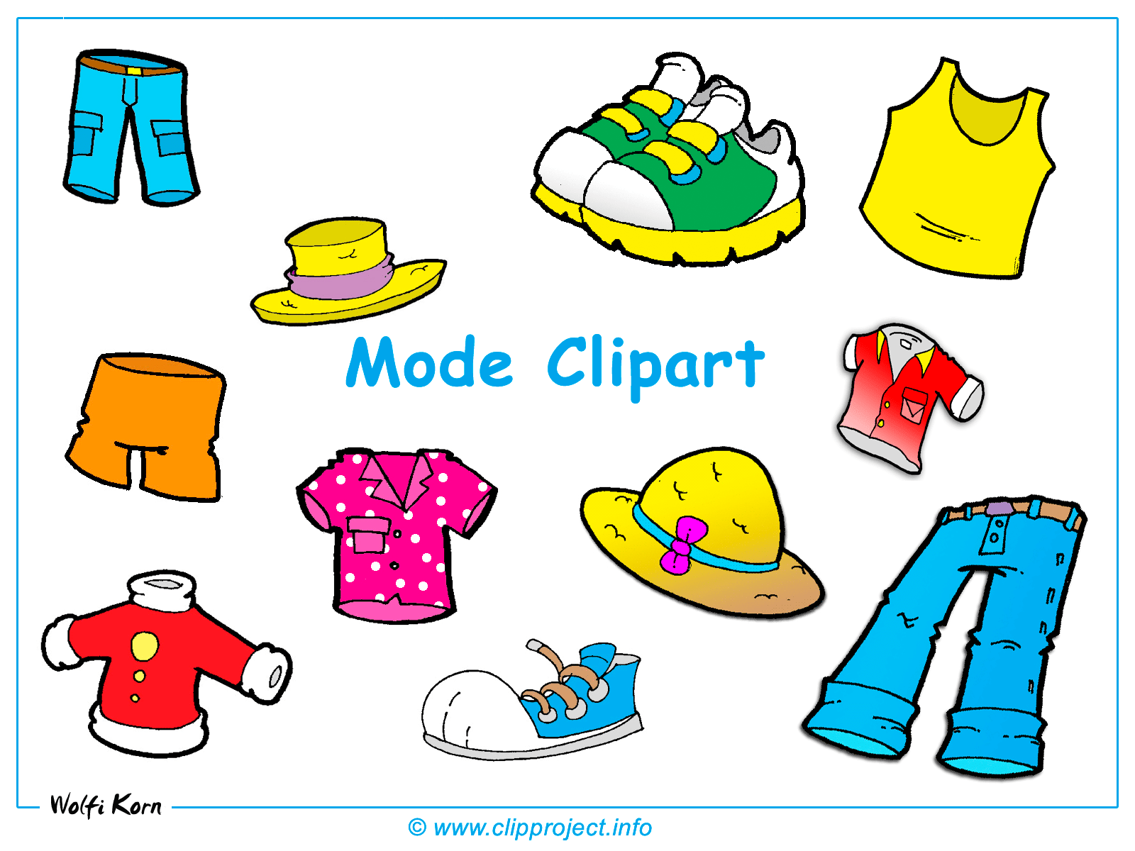 Summer clothes clipart jpg royalty free library Summer clothes clipart free » Clipart Portal jpg royalty free library