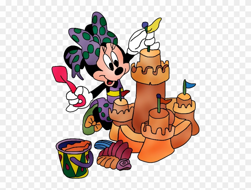 Summer disney clipart png stock Disney Baby Minnie Mouse Cartoon Png Clip Art Images ... png stock