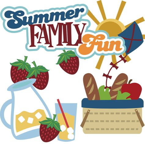 Summer family fun clipart clip art black and white stock Pinterest clip art black and white stock