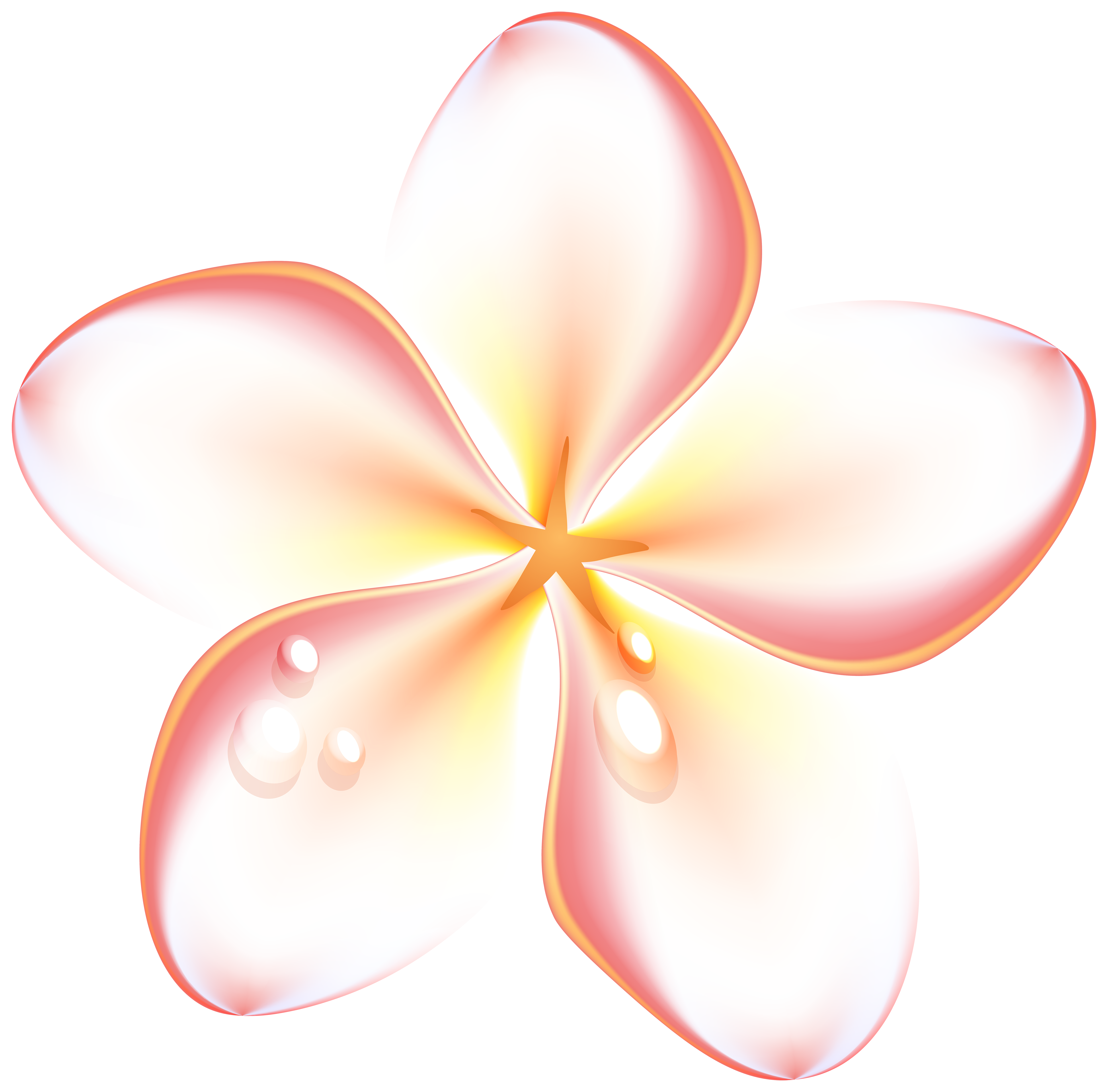 Summer flower clipart vector free download Exotic Summer Flowers Transparent PNG Clip Art Image | Gallery ... vector free download