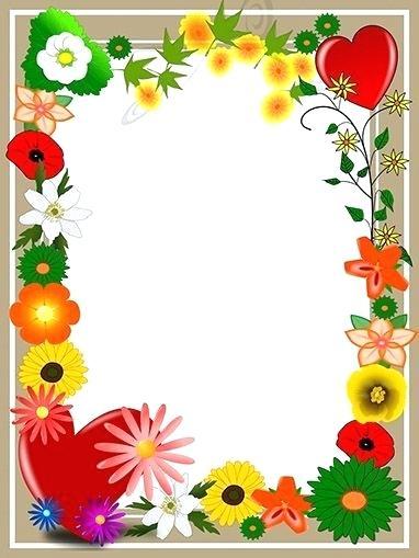 Summer flowers border clipart svg black and white summer flower border – kmetijaselisnik.net svg black and white