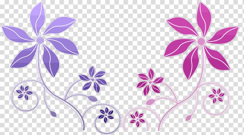 Summer flowers in purple and fuschia clipart royalty free download Fuchsia Flower , flower Drawing transparent background PNG ... royalty free download