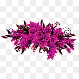 Summer flowers in purple and fuschia clipart vector royalty free library Fuschia Flowers PNG Transparent Fuschia Flowers.PNG Images ... vector royalty free library