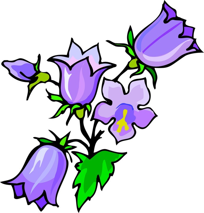 Summer flowers in purple and fuschia clipart jpg freeuse stock Free Purple Flower Clipart, Download Free Clip Art, Free ... jpg freeuse stock