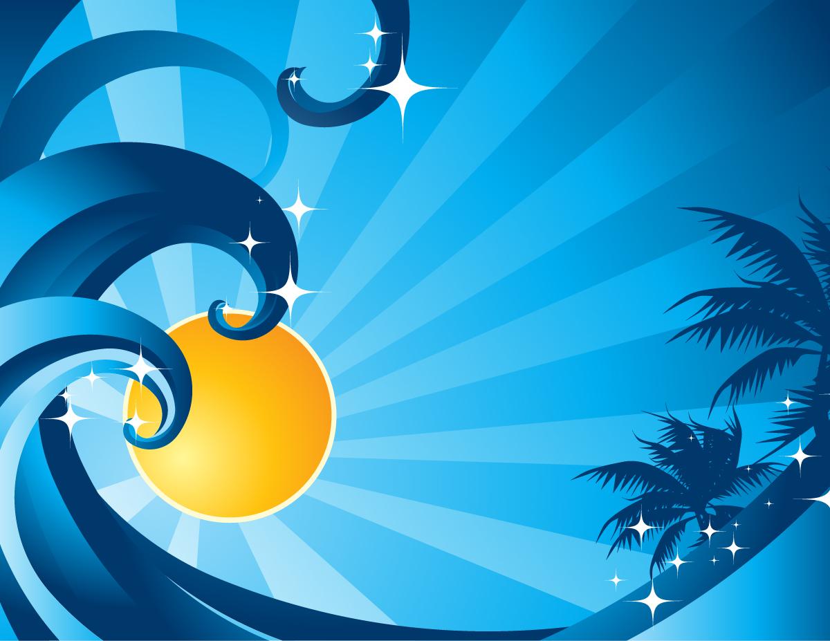 Summer night clipart image transparent Summer Nights Vector | GraphicsKeeper.com image transparent