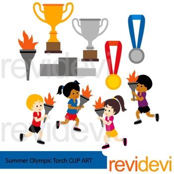 Olympics 2016 clipart clip stock Summer Olympic Torch Clip art - Sport clipart clip stock