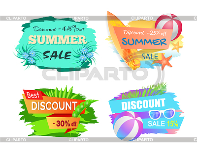 Summer sale clipart 25 banner library library Summertime | Stock Photos and Vektor EPS Clipart | CLIPARTO banner library library