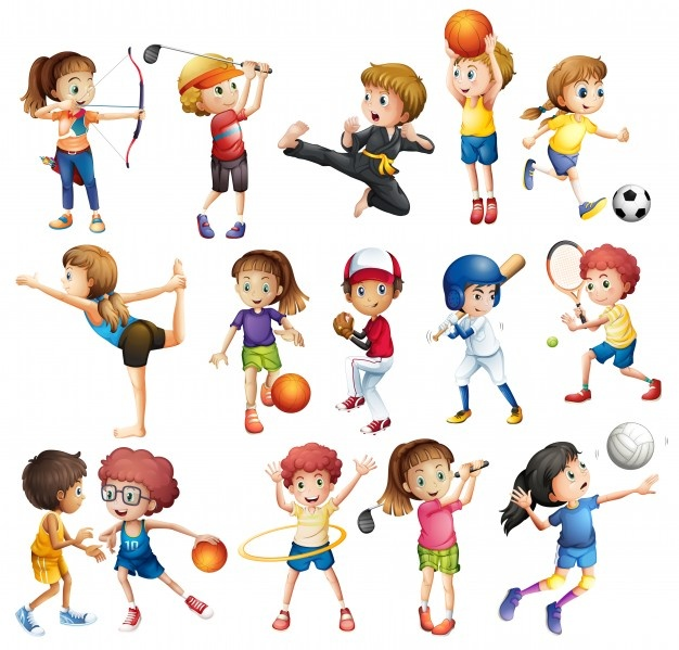 Summer sports clipart graphic transparent library Sports vectors, +70,000 free files in .AI, .EPS format graphic transparent library
