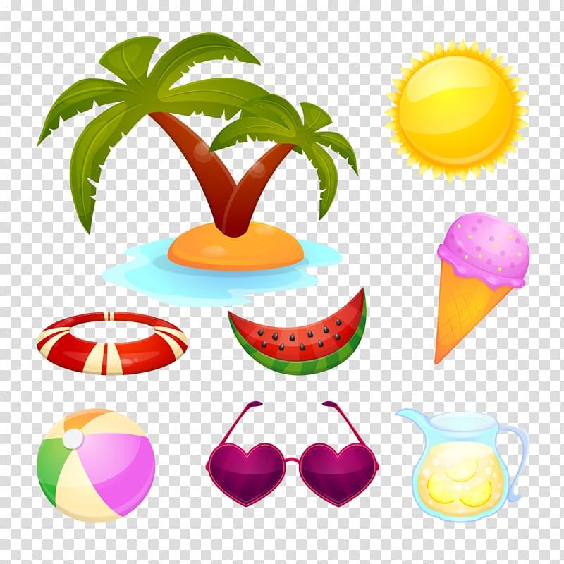 Summer style clipart svg download Summer Graphic design , island style transparent background ... svg download