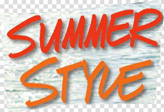 Summer style clipart vector freeuse library New Magazine Cuts, Summer Style logo transparent background ... vector freeuse library