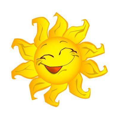 Summer sun clipart free clip art black and white sunshine clip art | Sun Clip Art, Bright Happy Summer Sun ... clip art black and white