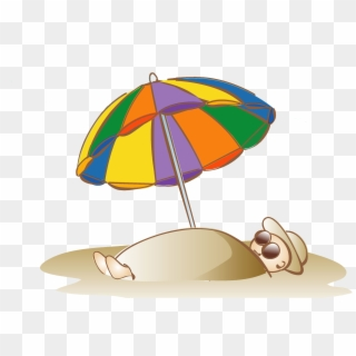 Summer umbrella clipart clip art free stock Sand Clipart Beach Parasol - Clipart Summer Umbrella, HD Png ... clip art free stock