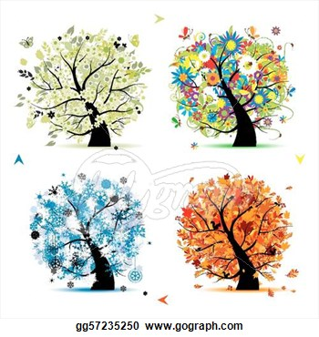 Summer vs winter clipart picture transparent library Autumn winter clipart - ClipartFox picture transparent library