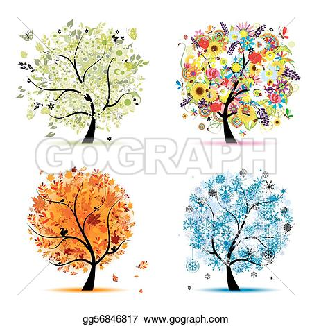 Summer vs winter clipart graphic freeuse Winter Clip Art - Royalty Free - GoGraph graphic freeuse