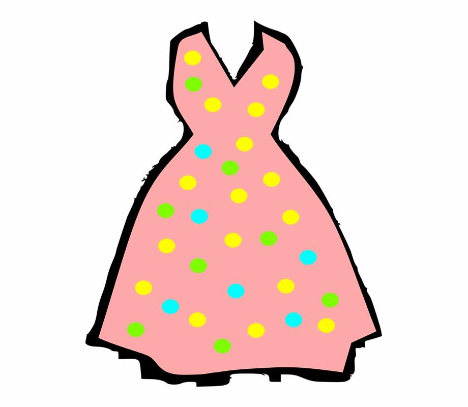 Summerdress clipart clip freeuse stock Wedding Dress Clipart Summer Dress - รูป เสื้อผ้า Png Free ... clip freeuse stock
