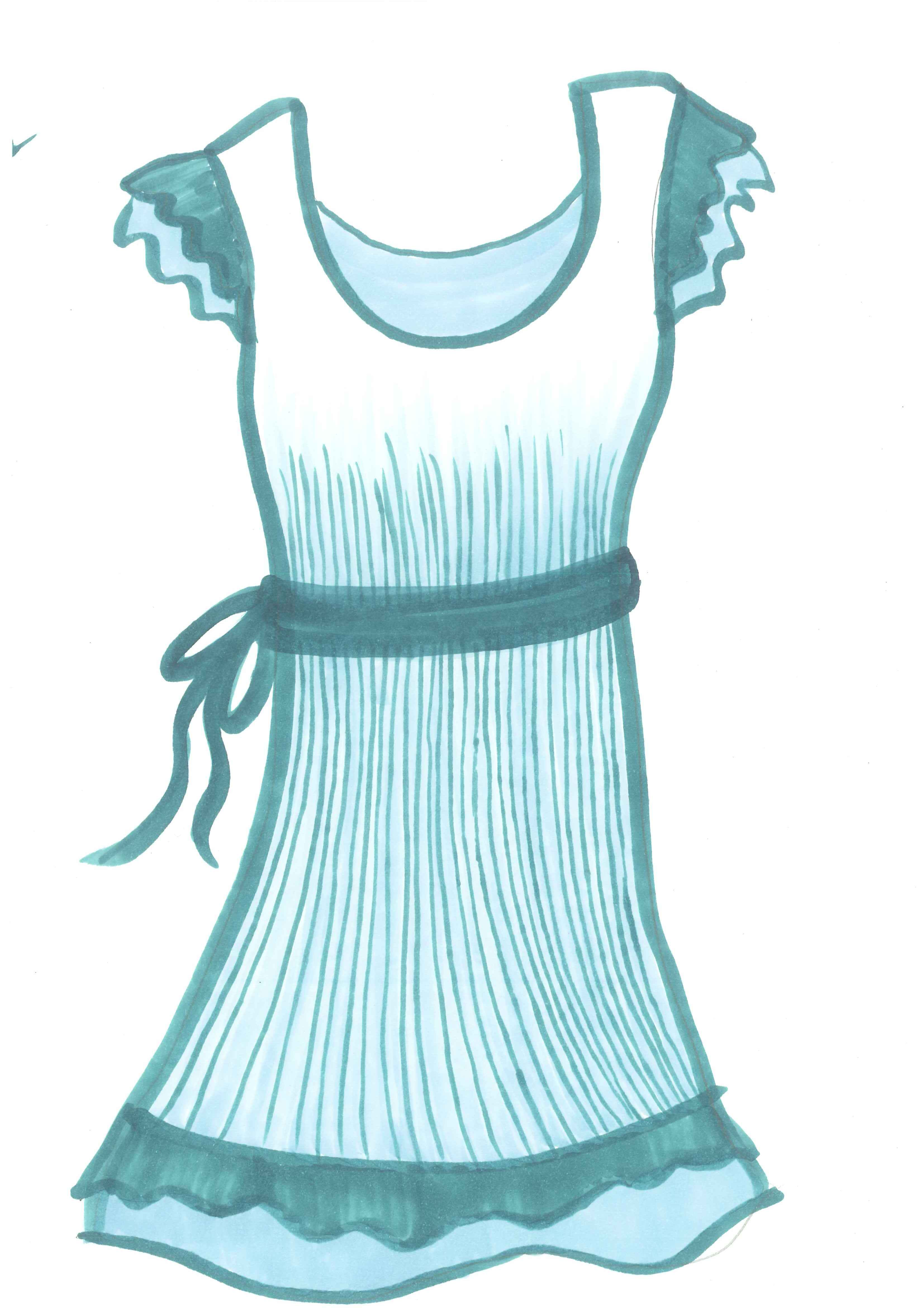 Summerdress clipart vector library download Free Summer Cloth Cliparts, Download Free Clip Art, Free ... vector library download