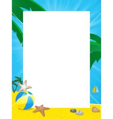 Summertime clipart borders jpg free library Free Beach Cliparts Borders, Download Free Clip Art, Free ... jpg free library