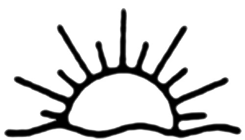 Sun above house clipart black and white svg freeuse library Collection of Rising sun clipart | Free download best Rising ... svg freeuse library