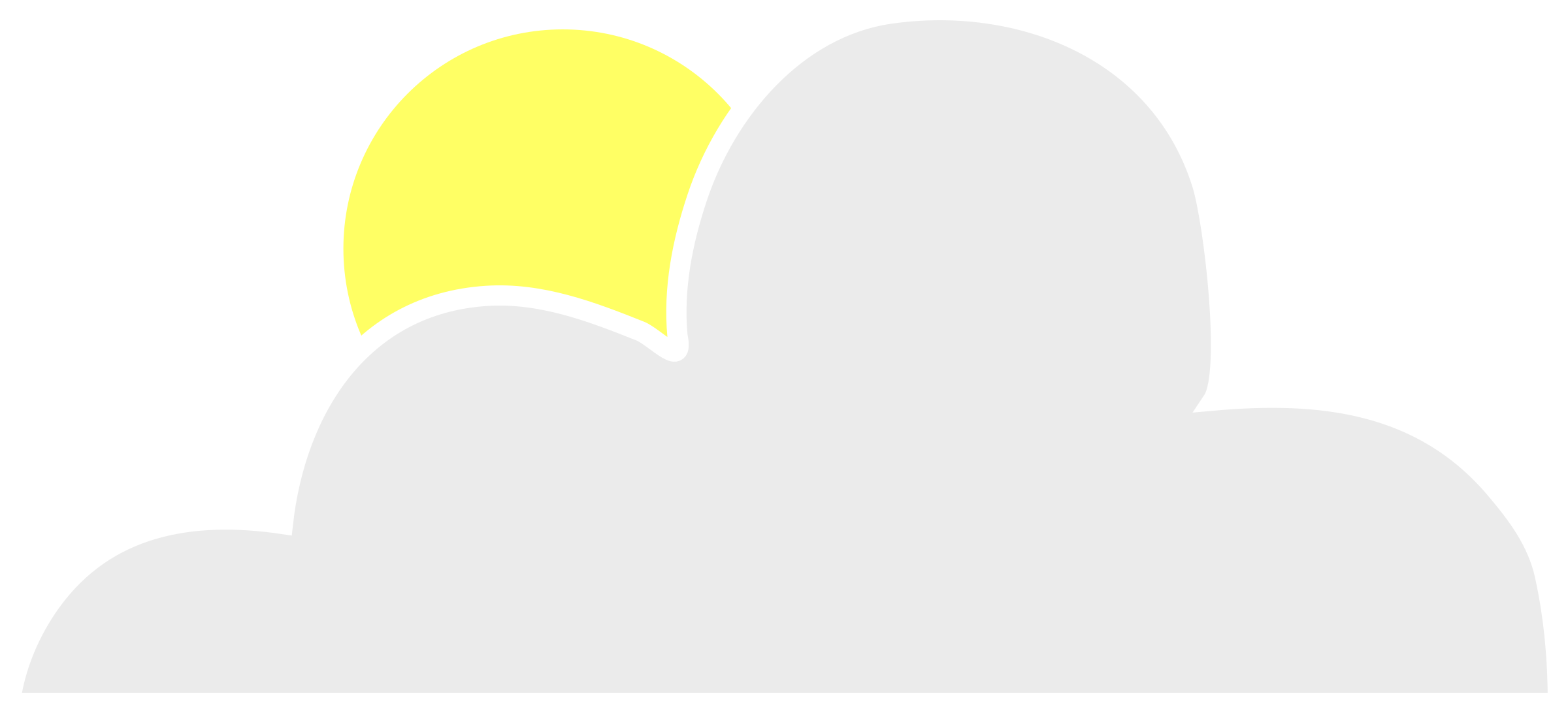 Sun and cloud clipart black and white download Clipart - Sun behind cloud black and white download