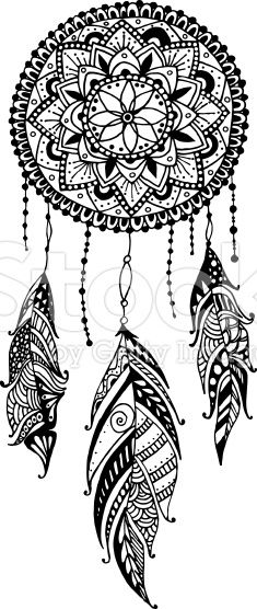 Sun and dream catcher clipart black and white graphic black and white stock dream catcher clipart - Google Search | tattoo ideas | Dream ... graphic black and white stock