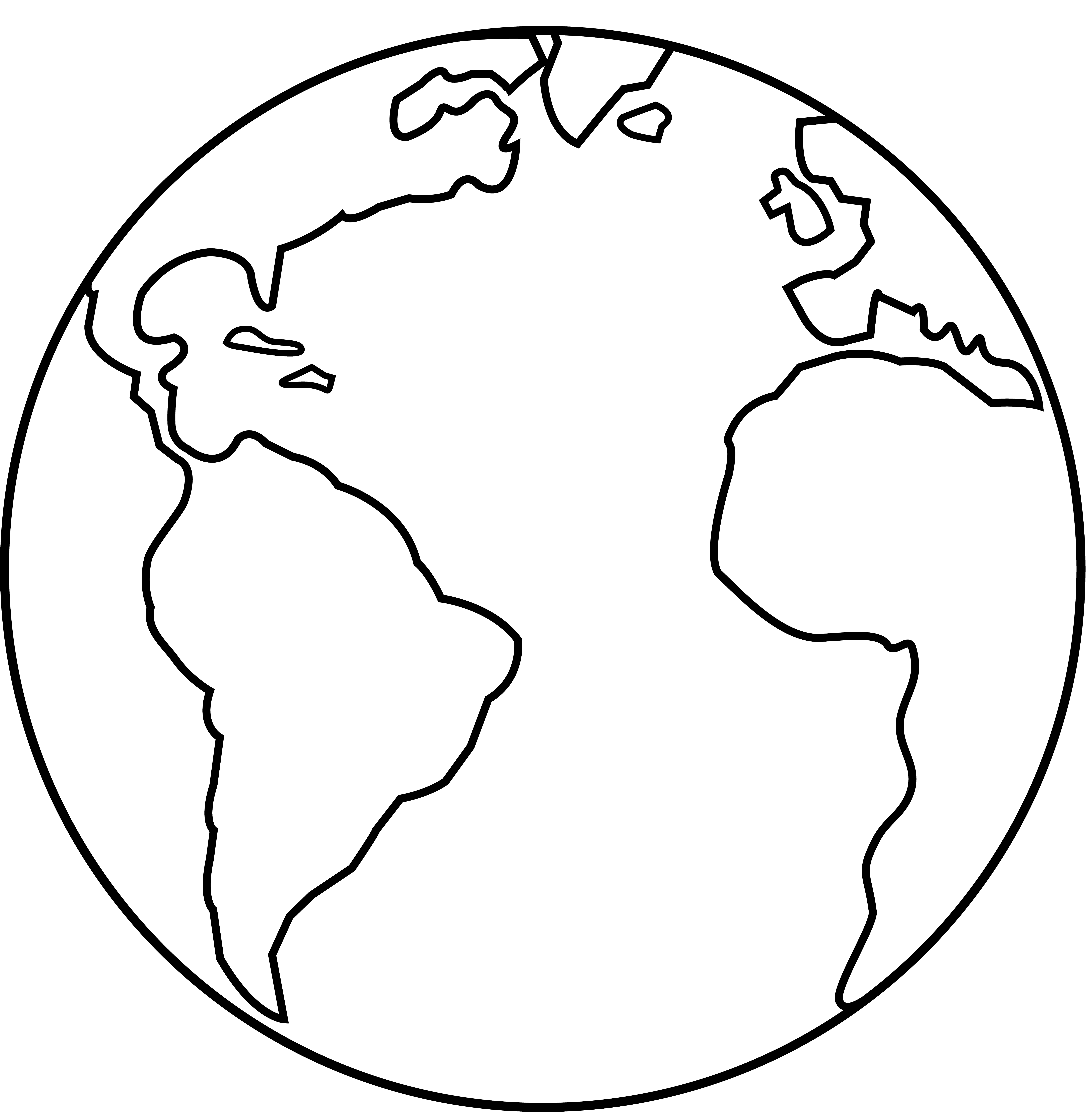 Sun and earth black and white clipart image black and white stock 28+ Collection of Earth Black And White Drawing | High quality, free ... image black and white stock