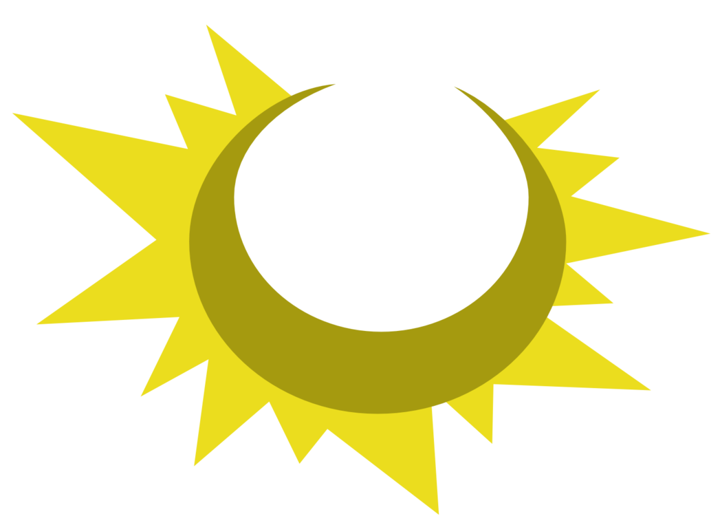 Sun and moon symbol clipart image freeuse library Sun and Moon cutie mark request by The-Smiling-Pony on DeviantArt image freeuse library