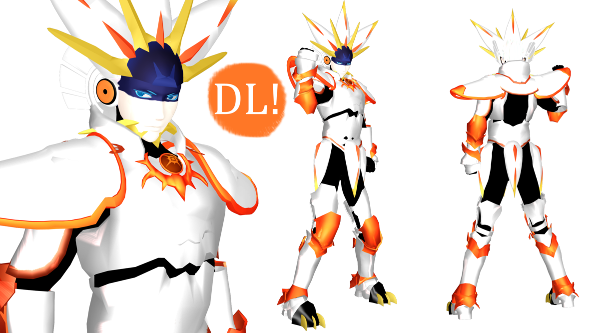 Sun and moon watch face clipart picture royalty free MMD] Solgaleo Gijinka DL (Pokemon Sun and Moon) by DrStinger on ... picture royalty free