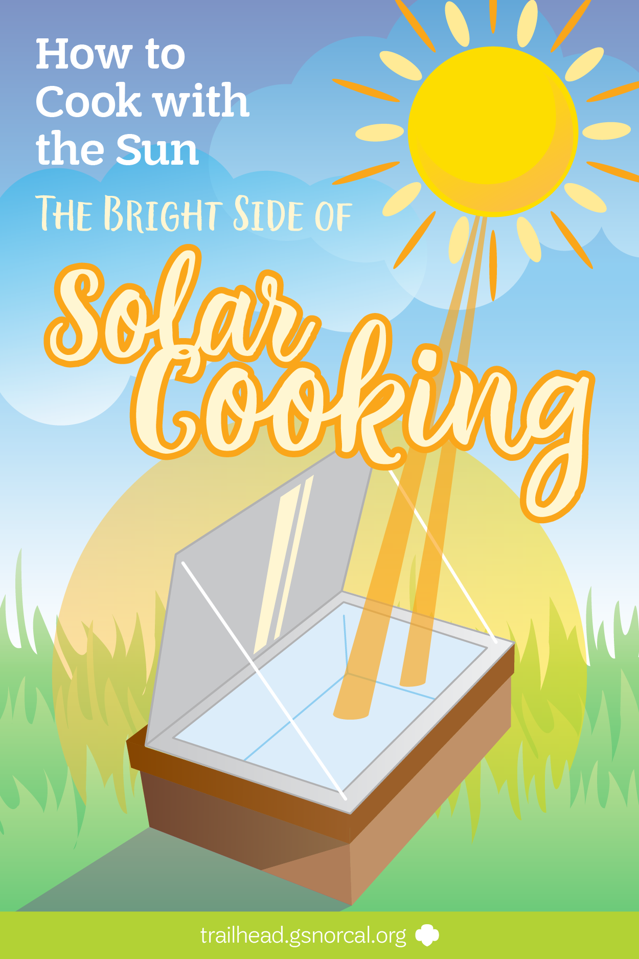Sun and plant clipart for girl scout shirts png royalty free library Harness the power of the sun to get your outdoor cooking done ... png royalty free library