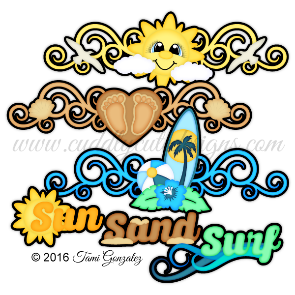 Sun and sand clipart clip art black and white download Summer clip art black and white download