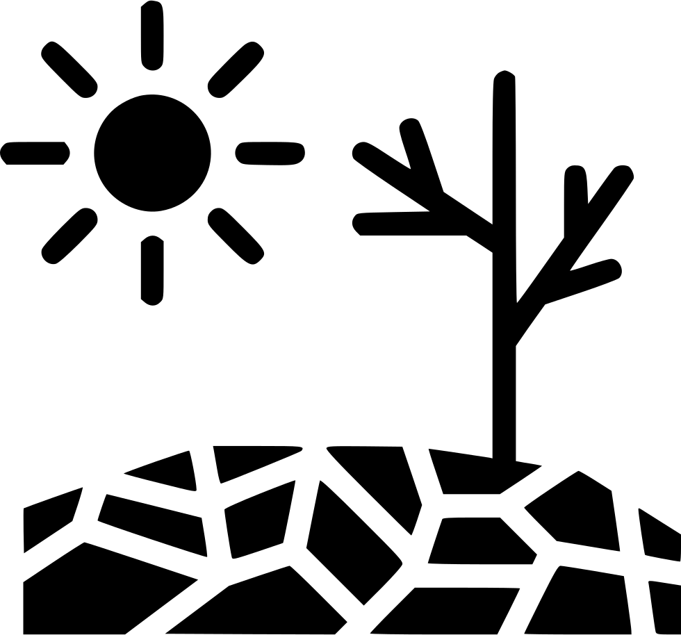 Sun and wind clipart picture black and white Drought Disaster Sun Svg Png Icon Free Download (#540565 ... picture black and white