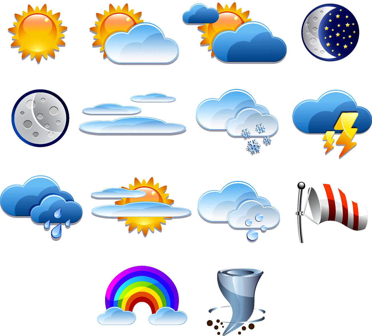 Weather report clipart snowflake image library stock Weather forecasting Logo Icon - Weather forecast icon 1300*1176 ... image library stock