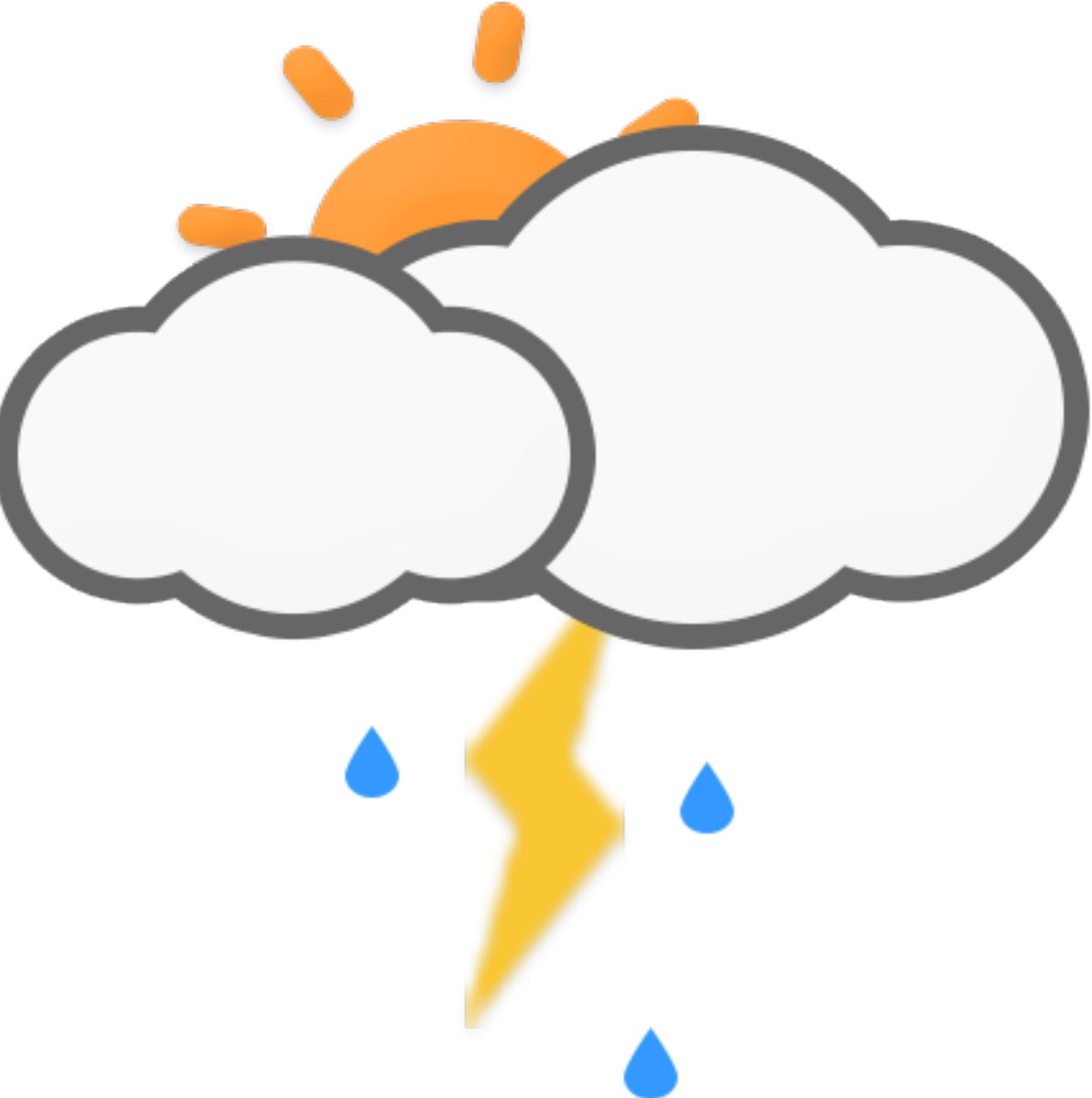 Sun clipart for weather forecast image royalty free download Florida, USA Weather Forecast - Holiday Weather image royalty free download