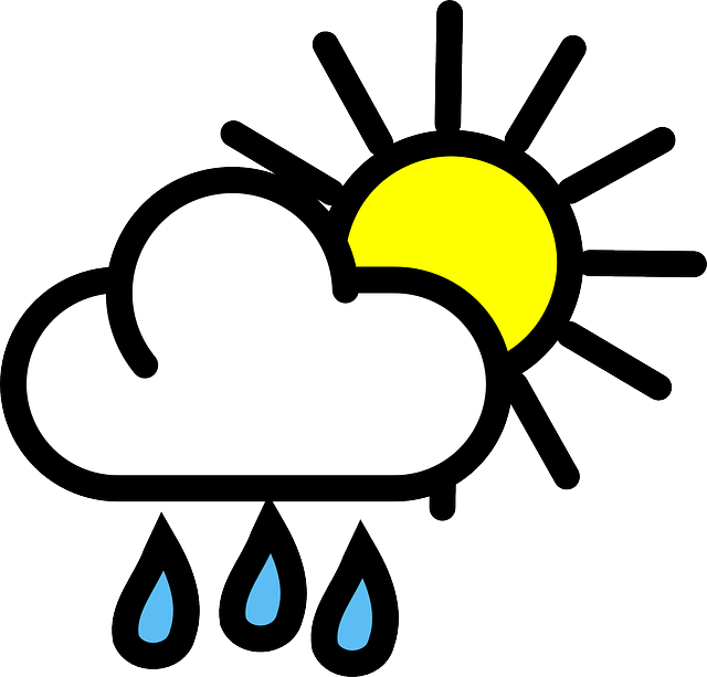 Sun clipart for weather forecast transparent download Weather On The World - Lessons - Tes Teach transparent download