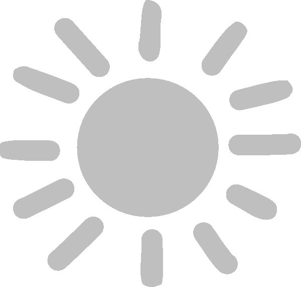 Sun clipart free vector clip freeuse stock Sun-gray Clip Art at Clker.com - vector clip art online, royalty ... clip freeuse stock