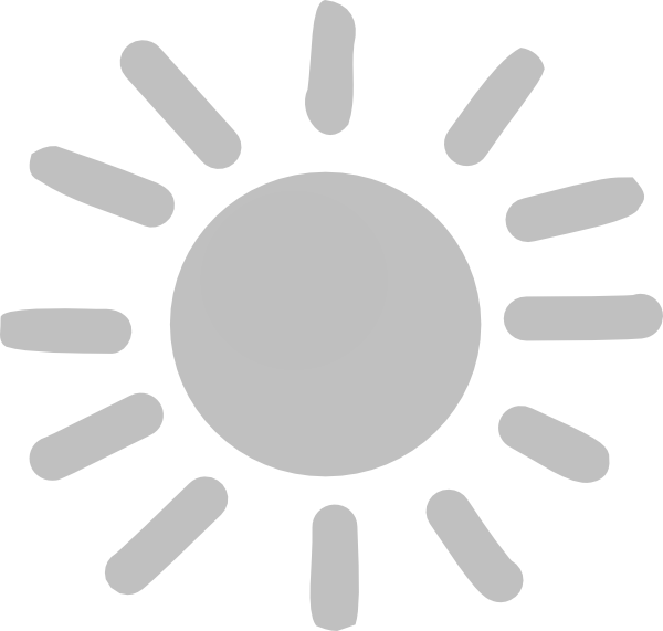 Sun clipart simple vector transparent stock Sun-gray Clip Art at Clker.com - vector clip art online, royalty ... vector transparent stock