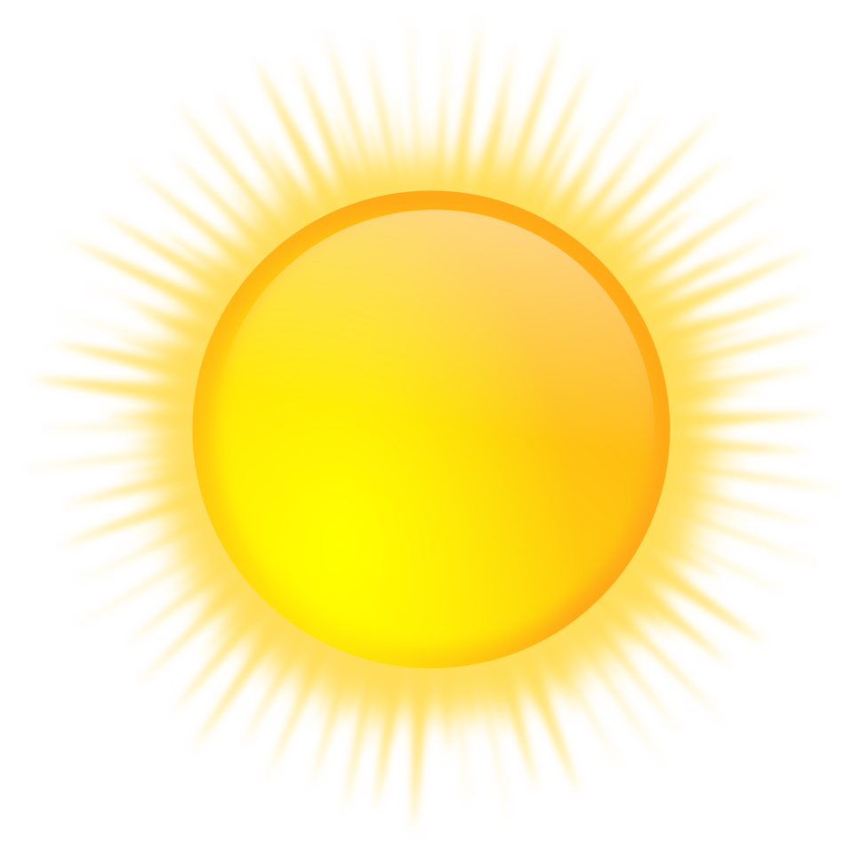 Weather sun clipart clipart royalty free Public Domain Clip Art Image | weather icon - sunny | ID ... clipart royalty free
